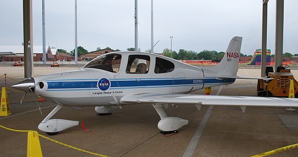 NASA's Langley Research Center Cirrus SR-22