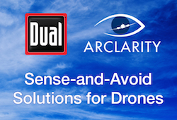 Dual Arclarity Sense and Avoid Solutions