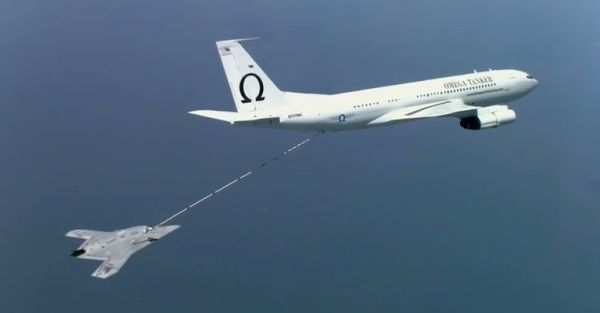 X-47B completes first autonomous aerial refueling