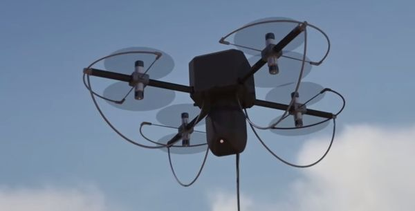The WATT tethered drone