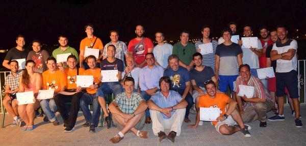 The first Drone Pilot class from the Universitat Politècnica de València