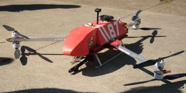 Firefighting drone by FliteTest