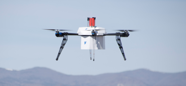 Flirtey package delivery drone