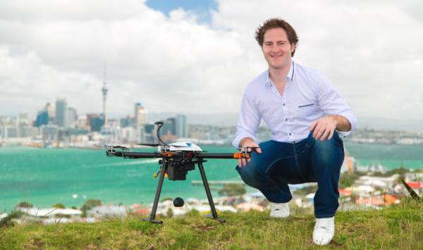 Flirtey founder and CEO Matthew Sweeny