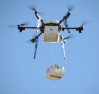 Flirtey 7-Eleven package delivery
