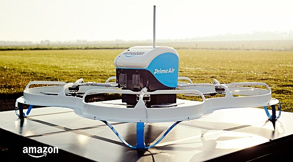 Amazon Prime Air beta test drone