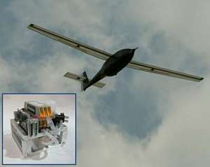 The Ion Tiger in flight and a 550 W fuel cell