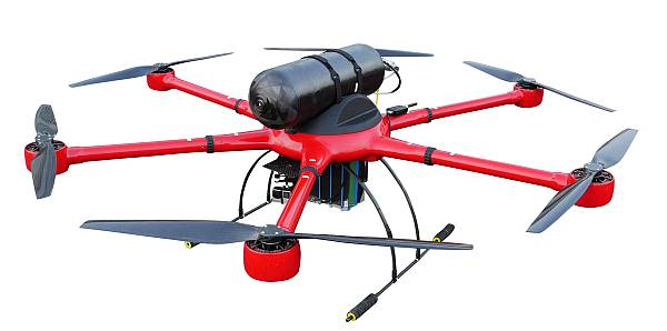 The HyDrone 1550 hydrogen powered drone