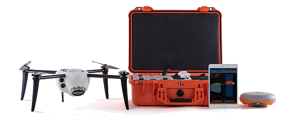 The Kespry fully autonomous aerial intelligence system