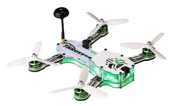 The RIOT 250R for the PAL drone racing league.