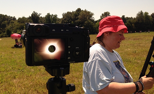 Solar Eclipse, Cerulean, KY by Max Flight